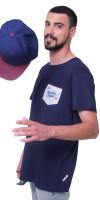 RECKLESS-NAVY-T-SHIRT-COTTON-MEN-SIDECAP-WWW.WERIDELOCAL.COM