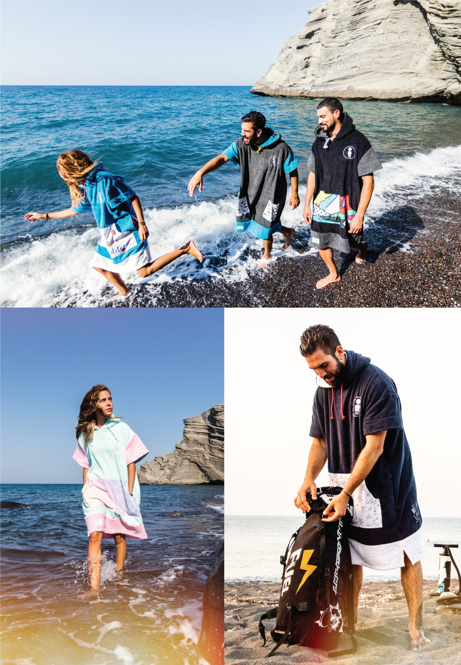 WWW.WERIDELOCAL.COM-MEN-WOMEN-SURF-PONCHO-COTTON-TOWEL