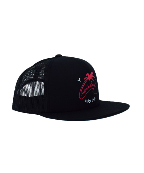 WERIDELOCAL-BLACK-PALM-CORAL-BEACH-LIVIN-CAP