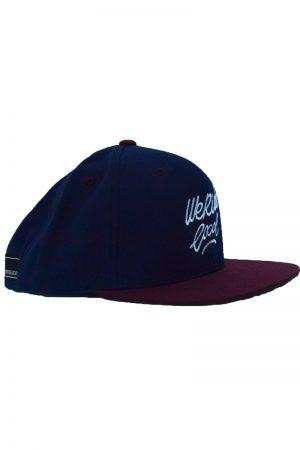 WERIDELOCAL-NOISE-MAROON-CAP