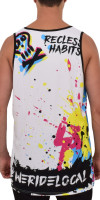 Splash II White Rash Vest