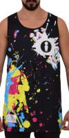 Splash II Black Rash Vest