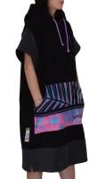 weridelocal surf towel poncho passion beachwear surfwear women made in greece