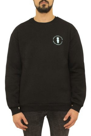 United Black Crewneck