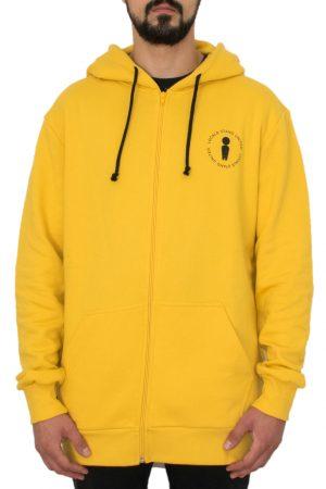United_Golden_Mustard_Front_streetwear_Zip_hoodie_fw18_www.weridelocal.com_snowboard_kiteboard