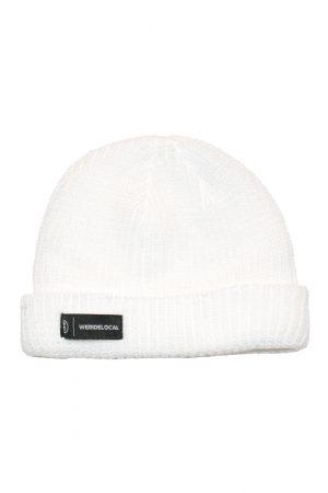 www.weridelocal.com_Label_White_Beanie_Kiteboarding_snowboarding_winter
