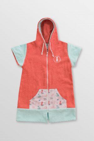 Lil-Mermaid-Girl-Poncho-Front-Cotton-hoodie-Towel-surfponcho-changing-robe-Watersports-Kitesurf-Kiteboard-Sup-Wake-weridelocal