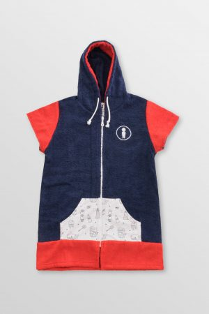 Lil-Sailor-Boy-Poncho-Front-Cotton-hoodie-Towel-surfponcho-changing-robe-Watersports-Kitesurf-Kiteboard-Sup-Wake-weridelocal