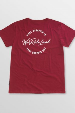 Lunatic-Maroon-Back-cotton-t-shirt-kitesurf-kiteboard-wake-sup-surf-weridelocal