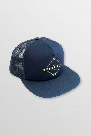 Mode-navy-yellow-trucker-cap-snapback-side-Watersports-Kitesurf-Kiteboard-Sup-Wake-weridelocal