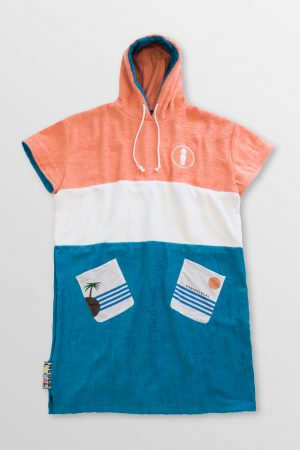 Tequila-Sunrise-Poncho-Front-Cotton-hoodie-Towel-surfponcho-changing-robe-Watersports-Kitesurf-Kiteboard-Sup-Wake-weridelocal