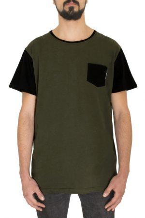 Classic-Army-Black-pocket-Tshirt-Front-FW18-cotton-kitesurf-kiteboard-streetwear-snowboarding-www.wericelocal.com-reckless-habits-931x1024
