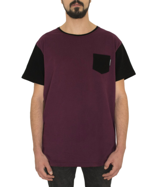 Classic-Eggplant-Black-pocket-Tshirt-front-FW18-cotton-kitesurf-kiteboard-streetwear-snowboarding-www.wericelocal.com-reckless-habits-931x1024