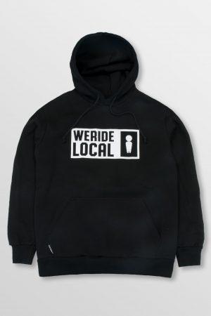 WeRideLocal_Emblem_Black_Front_cotton_hoodie_FW19