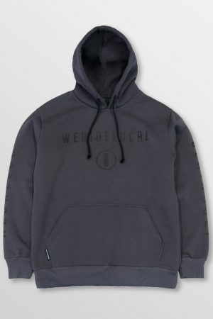 WeRideLocal_Park_Anthracite_Front_cotton_hoodie_FW19