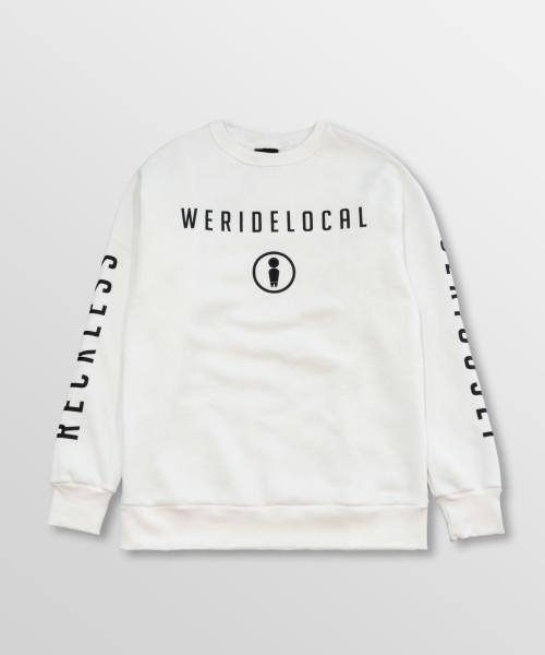 WeRideLocal_Park_Off_White_Front_cotton_crewneck_FW19