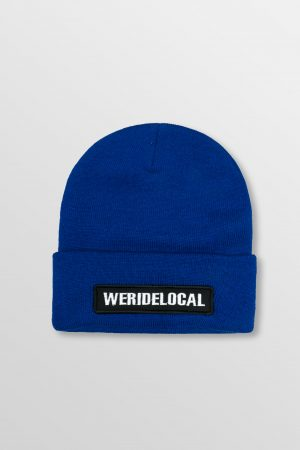 WeRideLocal_Pipe_Royal_Blue_Beanie_FW19