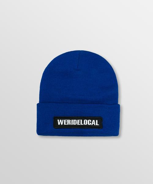 WeRideLocal_Pipe_Royal_Blue_Beanie_FW19