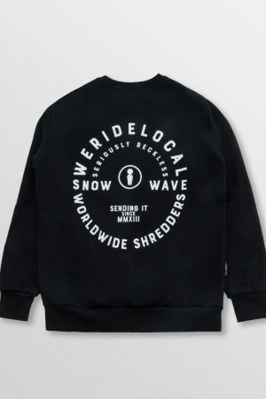 WeRideLocal_Shredder_Black_Back_cotton_crewneck_FW19