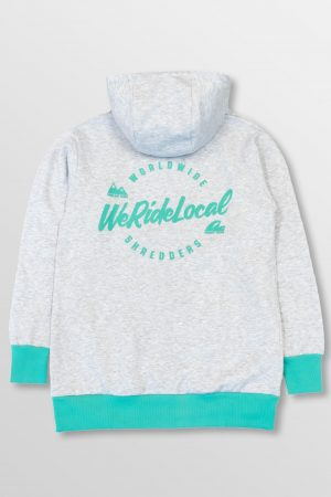 WeRideLocal_The_Bro_Grey_Melange_Back_cotton_hoodie_FW19