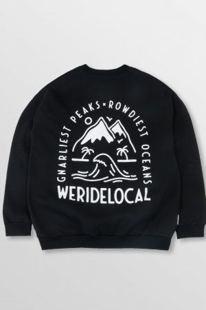 WeRideLocal_Venture_Black_Back_cotton_oversized_crewneck_FW19