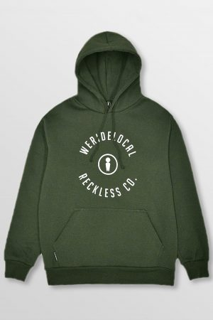 WeRideLocal_Mark_Army_Front_cotton_hoodie_FW19