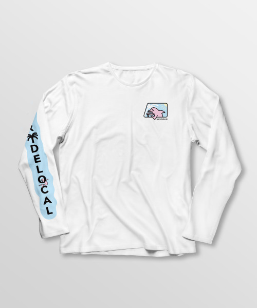 Weridelocal_Roamers_Inc_Long_Sleeve_Tee_White_Cotton_unisex_t-shirt_street_athletic_SS19_Front