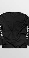 Weridelocal_Status_Long_Sleeve_Tee_Black_Cotton_unisex_t-shirt_street_athletic_SS19_Back