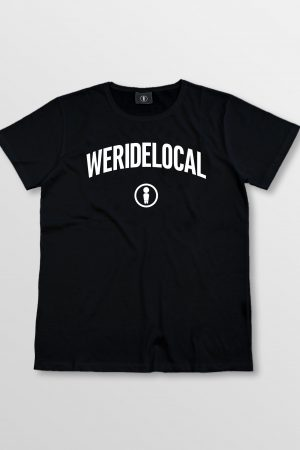 Weridelocal_Status_Tee_Black_Cotton_unisex_t-shirt_street_athletic_SS19_Front