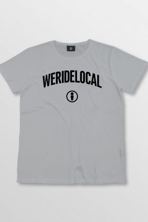 Weridelocal_Status_Tee_Grey_Melange_Cotton_unisex_t-shirt_street_athletic_SS19_Front