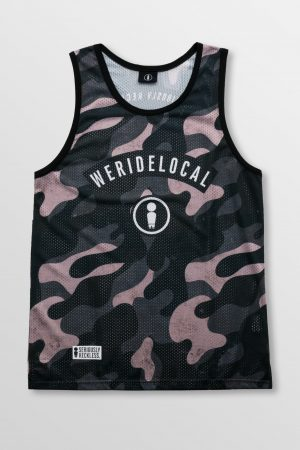Weridelocal_Camo_Dark_Jersey_unisex_tank_top_street_athletic_SS19_Front