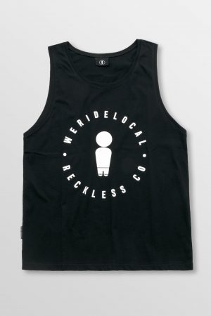 Weridelocal_Dialiy_Tank_Top_Black_Cotton_unisex_street_athletic_SS19_Front