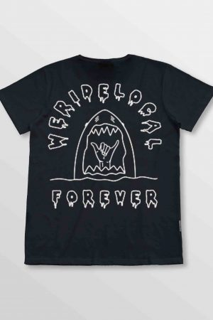 Weridelocal_Forever_Tee_Black_Cotton_unisex_t-shirt_street_athletic_SS19_Back