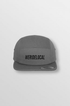 Weridelocal_Hero_Jockey_Cap_Antracite_unisex_street_athletic_SS19_Front