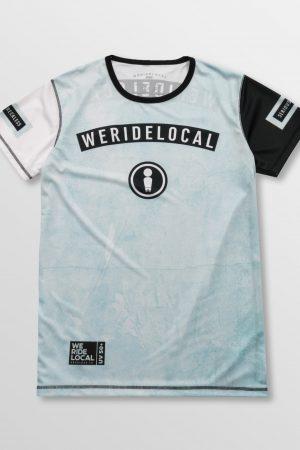 Weridelocal_Rowdy_Light_Rashguard_Tee_T-shirt_unisex_waterwear_UV50+_athletic_kitesurf_wakeboard_sup_windsurf_SS19_Front