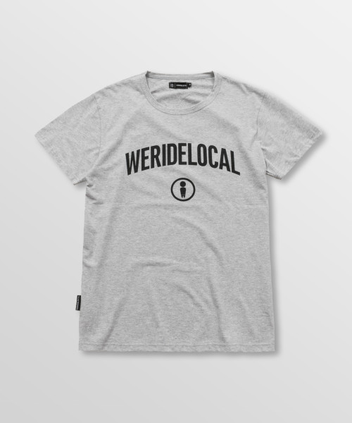 Weridelocal_Status_Tee_Grey_Melange_Cotton_unisex_t-shirt_street_athletic_SS19_Front