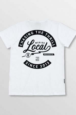 Weridelocal_Thrill_Tee_White_Cotton_unisex_t-shirt_street_athletic_SS19_Back
