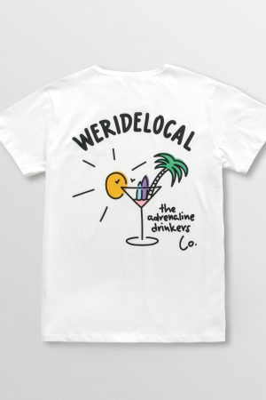 Weridelocal_Adrenaline_Drinkers_Tee_White_Cotton_unisex_t-shirt_street_athletic_SS19_Back