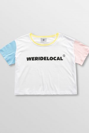 Weridelocal_Light_Superstar_Crop_Cotton_Female_street_athletic_SS19_Front