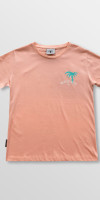 Weridelocal_Reckless_Division_Tee_Peach_Cotton_female_t-shirt_street_athletic_SS19_Front