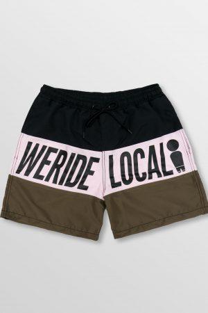 Weridelocal_Springbreak_Dark_Volley_Shorts_Boardshorts_Swinsuit_Swimwear_street_athletic_SS19_Front