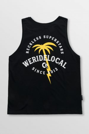 Weridelocal_Voltage_Division_Tank_Top_Black_Cotton_unisex_street_athletic_SS19_Back