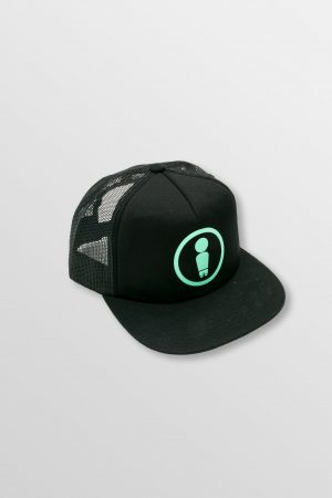 Weridelocal_Dood_Black_Mint_Trucker_Cap_Hat_unisex_street_athletic_SS19_Front