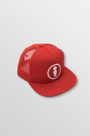 Weridelocal_Dood_Red_Trucker_Cap_Hat_unisex_street_athletic_SS19_Front