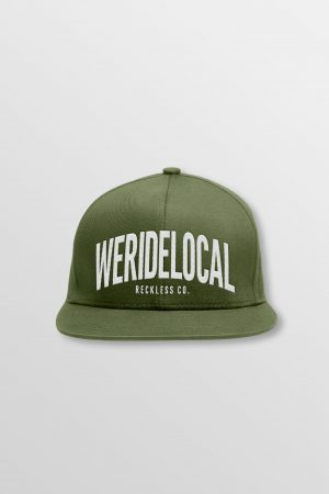 Weridelocal_Status_Snapback_Cap_Tuck_unisex_street_athletic_SS19_Front
