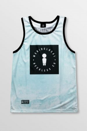 Weridelocal_Reckless_Aqua_Jersey_unisex_tank_top_street_athletic_SS19_Front