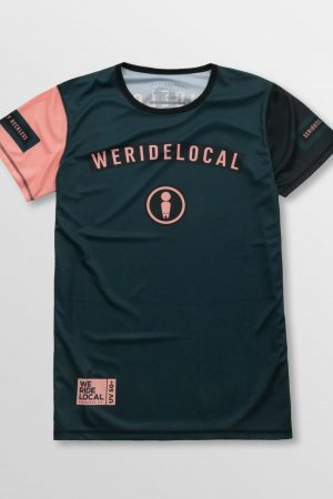 Weridelocal_Rowdy_Dark_Rashguard_Tee_T-shirt_unisex_waterwear_UV50+_athletic_kitesurf_wakeboard_sup_windsurf_SS19_Front