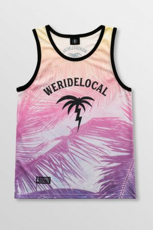 Weridelocal_Vacay_Light_Jersey_unisex_tank_top_street_athletic_SS19_Front