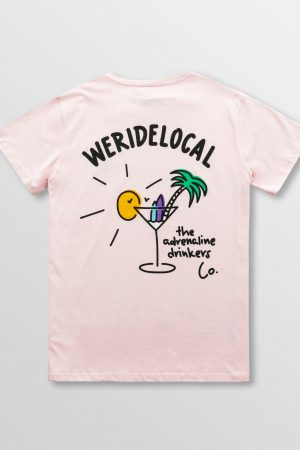 Weridelocal_Adrenaline_Drinkers_Tee_Baby_Pink_Cotton_unisex_t-shirt_street_athletic_SS19_Back
