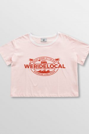 Weridelocal_Supreme_Lifelivers_Pink_Crop_Cotton_Female_street_athletic_SS19_Front